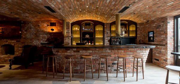 Inside Tantalus wine tasting area